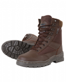 BROWN PATROL BOOTS FOR MTP UNIFORM